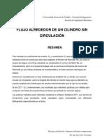 FLUJO ALREDEDOR DE UN CILINDRO SIN CIRCULACIÓN