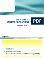 Cisco DWDM Overview