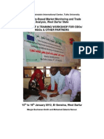 MMTA Workshop Report Geneina - January 2012