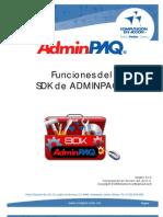 Funciones SDK-ADMW