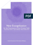New Evangelization for the Transmission of the Christian Faith