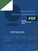 Hipertensión Arterial Gestacional