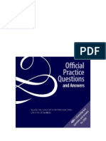 Official Practice Questions and Answers PDF