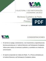 Informe Ejecutivo Monitoreo de Medios del 1 - 15 Junio de 2012