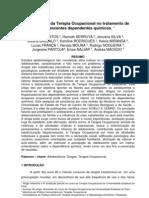 Intervenção da Terapia Ocupacional no tratamento de adolescentes dependentes químicos.
