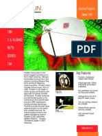 Prodelin 1.8 m C-Band Antenna (Intelsat) 1184-480-X Datasheet