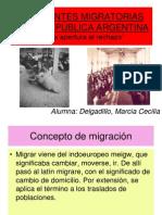 2012 Migraciones Argentina