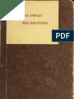 Claude Levi Strauss. Race History