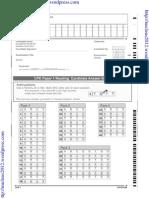 CPE Answer Sheets