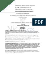 Ley de Correduría de Bienes Raíces de Nicaragua (Ley No. 602)