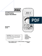 03482139e Craftsman Multimeter