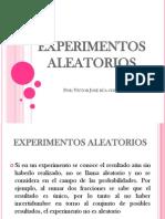 ESPERIMENTOS ALEATORIOS