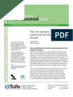Briefing Paper Economics of Pastoral Livestock