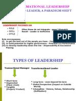 Transformational Leadership (5)