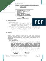 ELEMENTOS ELECTRÓNICOS Y ELECTRICOS USADOS EN EL COMPUTADOR