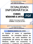Curso-windows e Internet 21-05-12