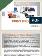 Ppt on Print Media