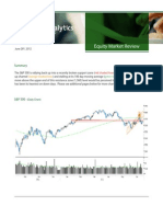 Fusion Research - Equity Market Review June 28