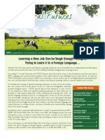 Rural Futures Newsletter Summer 2012