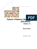 Python 3 Patterns Idioms