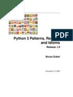 Python 3 Patterns Idioms