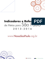 Publicacao Indicadores e Referencias de Metas 2013 2016
