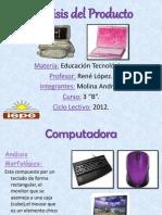 Análisis del Producto-Andrea