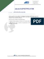Reinstalacion de SAPNETWEAVER