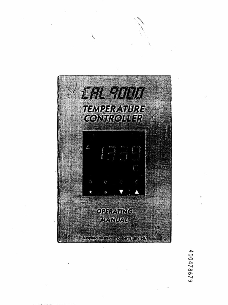 Cal 9000 Thermocouple Relay Auber Pid Wiring Diagram