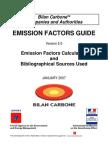 Bilan Carbone Emission_Factors