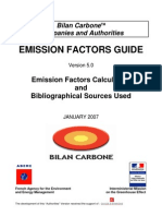 Bilan Carbone Emission_Factors