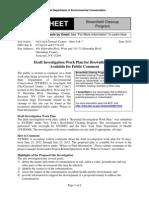 DEC fact sheet on Destiny USA brownfield application