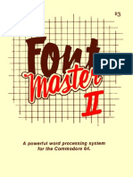 Fontmaster II User Manual
