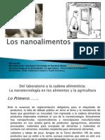 Los Nanoalimentos