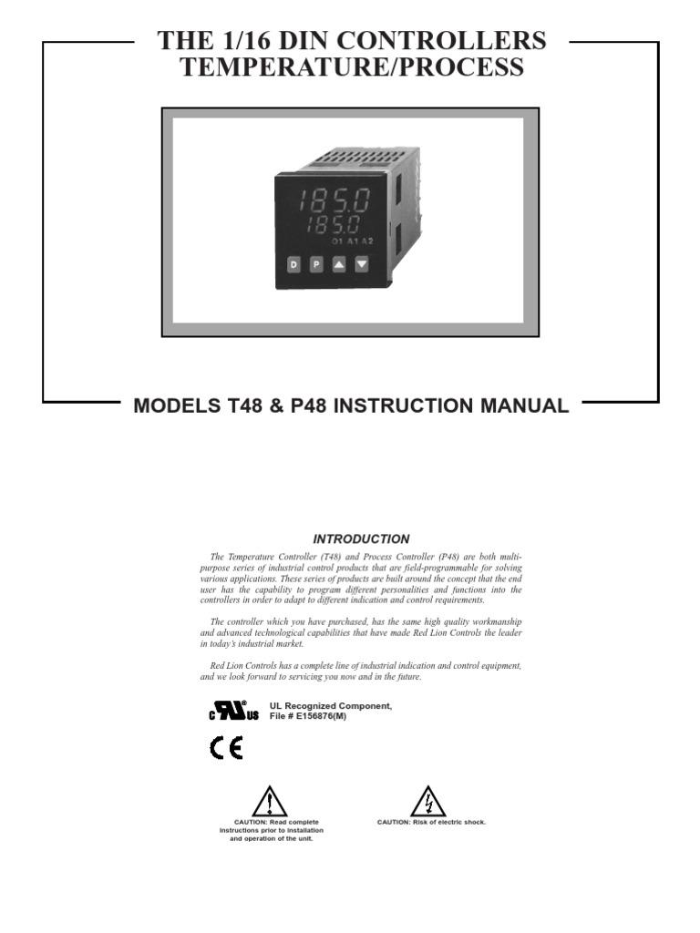 Red Lion T4810105 Temperature Controller