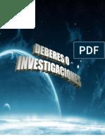 Deberes o Investigaciones