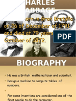 Babbage.  Maths character by C. Nuño and others