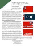 huntington liberty flag