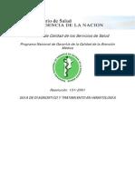 Guia de Dx y Tto en Hematologia