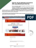 Manual de Alistamiento para Aplicación Correcta  EDO (Actualizado)