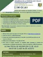 Extension Convocatoria 2012