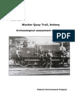 Wacker Quay Military Railway