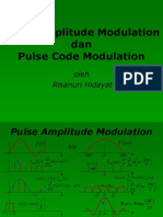 pam dan pcm | Sampling (Signal Processing) (10 views)
