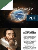 A Fuera de Serie - FS - La FÉ Confesada Por Genios