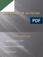 Mini Curso de AutoCAD