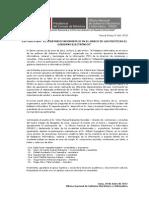 """ONGEI participa del foro """"Fedatario Informático en el marco del Gobierno Electrónico"""""""