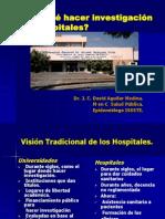 Presentacion Por qué hacer investigación en Hospitales