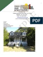 sample webpage report