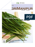 AgriManipur June 2012 (Vol. 1 Issue 3)
