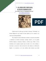 EL PRINCIPE VIRTUOSO,  EL BUEN GOBERNANTE De Cristian Carter